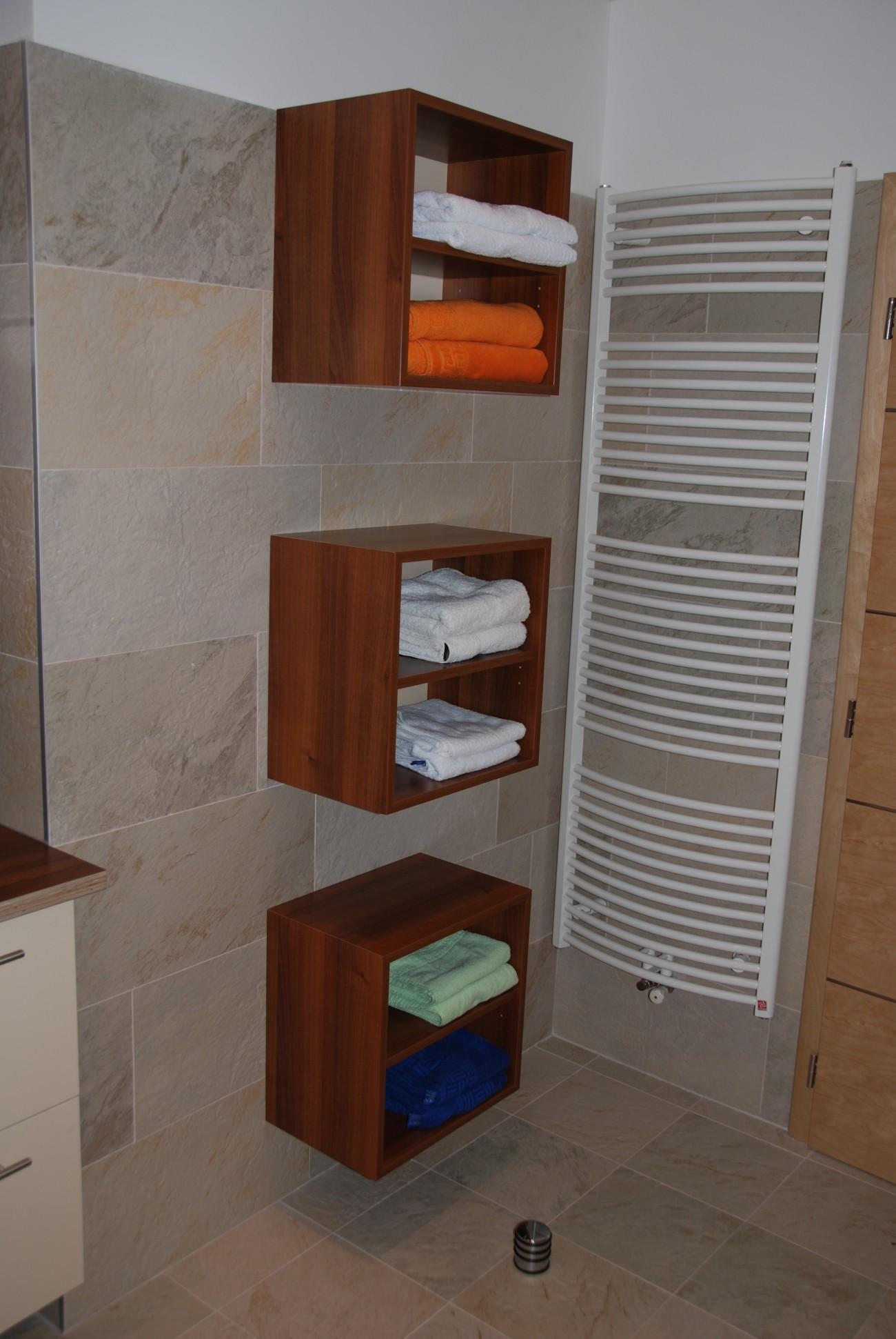 badezimmer | hänge-würfel mit zwischenfach
