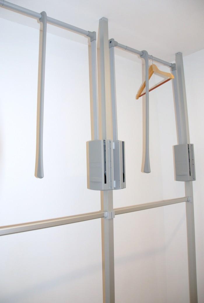 schrankraum   aluminium stangensystem