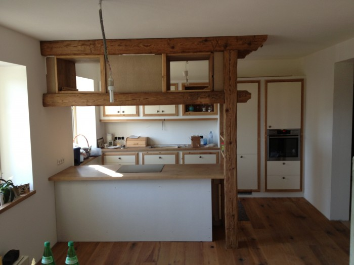 küche | landhaus | in arbeit