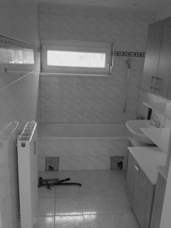 badezimmer | vorher
