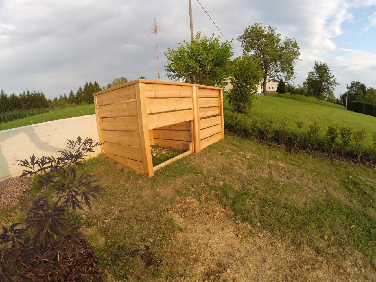 komposter | lärche | lamellen zum verschieben