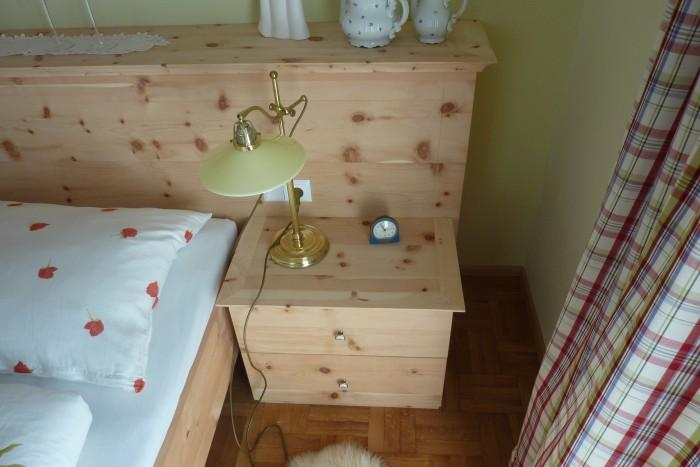 zirbenschlafzimmer | massivholz | zirben innenladen