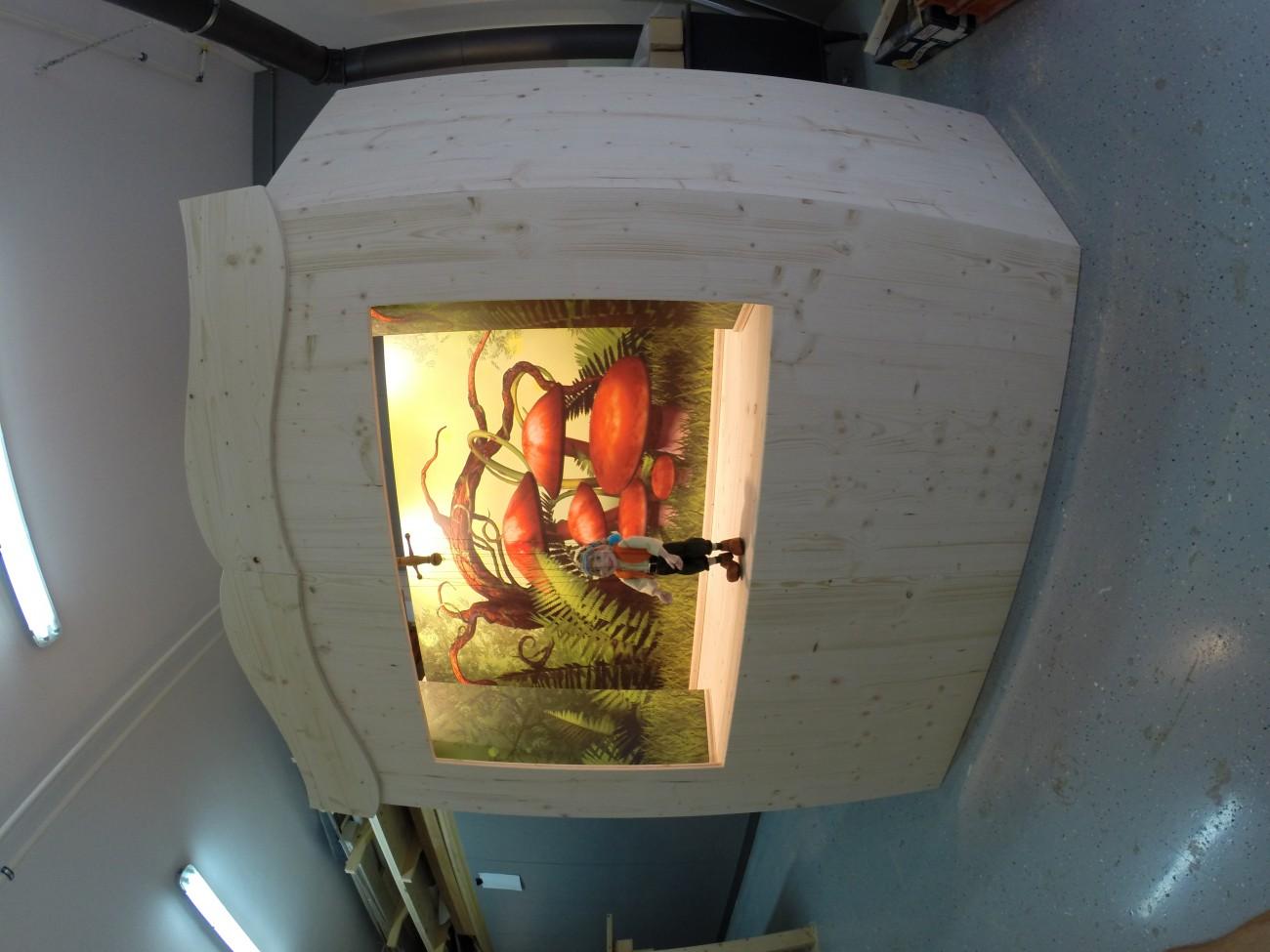 marionettentheater   stecksystem   mit verschiebbaren Kulissen und Beleuchtung