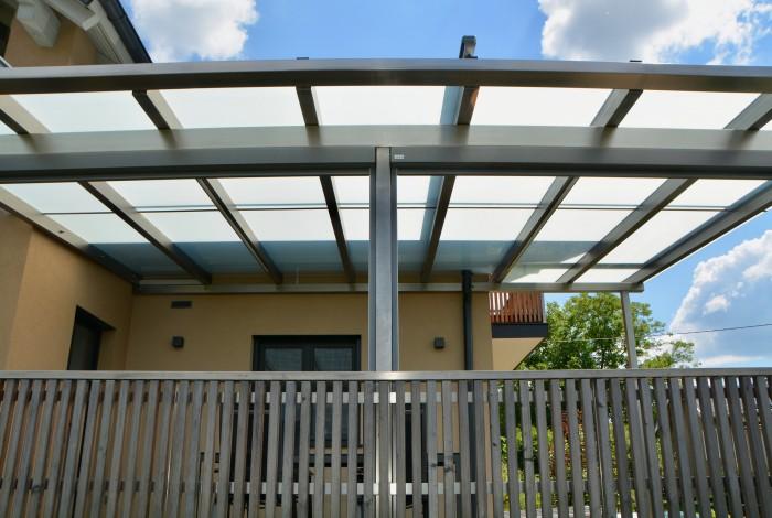 terrassenüberdachung | edelstahl | beschattung vertikal und horizontal