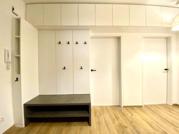 garderobe | zählerkasten verbau | weiß matt