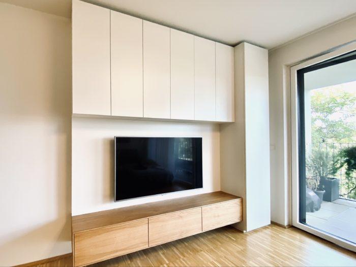 wohnzimmer | eiche natur geölt | weiß matt